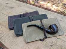 Handy Canvas Roll Up Pouch with Leather Cord - PNW BUSHCRAFT