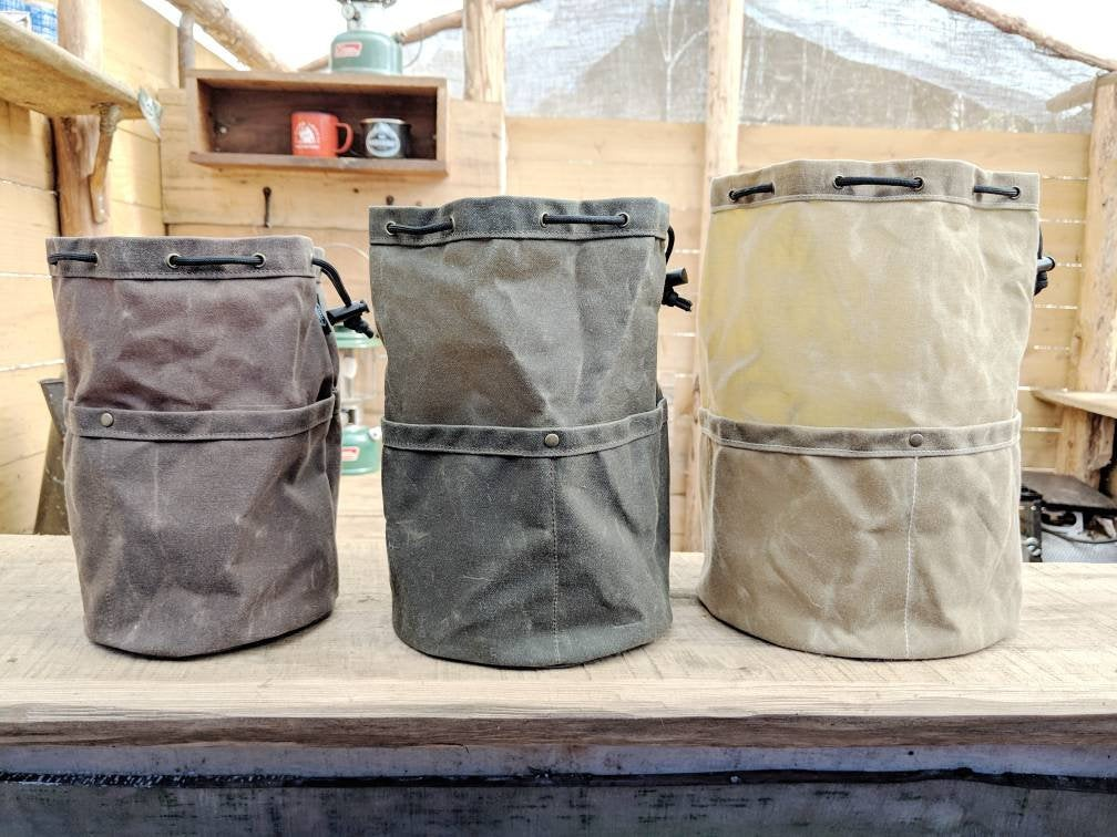 The Cedar Bucket Bag in Small, Medium or Large