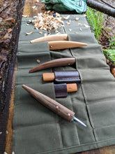 Kestrel Waxed Canvas Tool Roll Up - PNW BUSHCRAFT