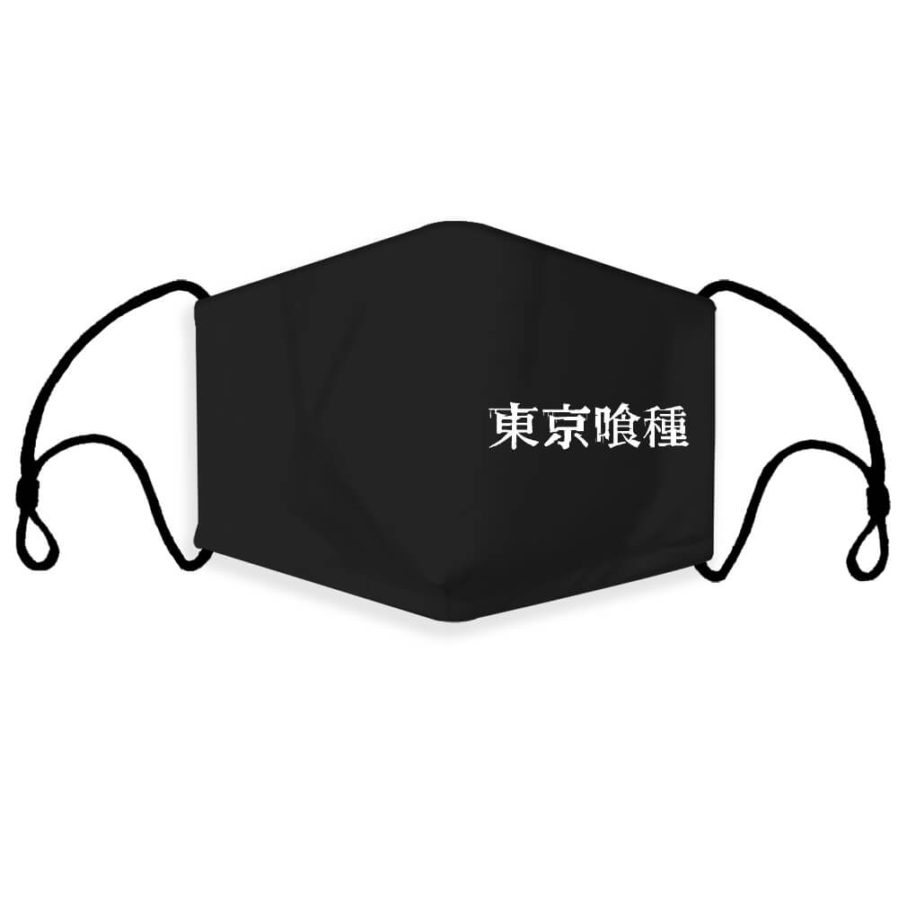 Tokyo Ghoul Manga Anime Fashion Face Mask Full Coverage Face Mask