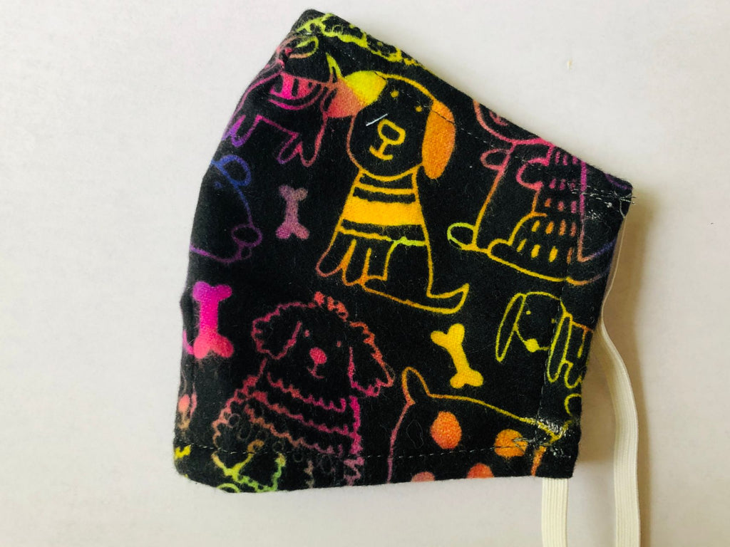 Ready to Ship Cloth Face Mask, Cute Pet Dog Face Mask, Washable, Reusable, Fashion Adult Children Face Mask, Full Coverage!