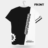 tshirt,art,wholeprint,3D,black and white,OPD,shirt