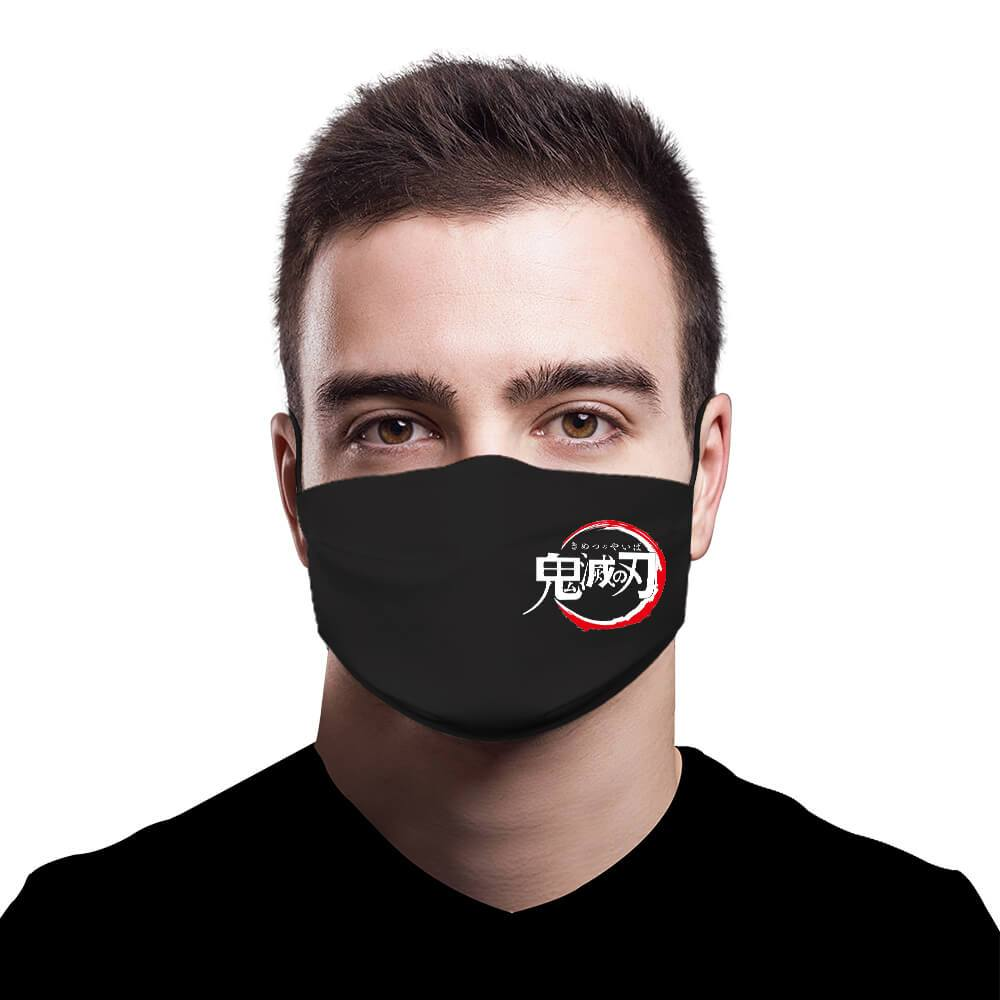 Demon Slayer Fashion Face Mask Full Coverage Face Mask