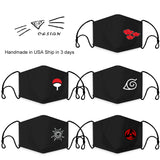 Naruto Fashion Face Mask Full Coverage Face Mask