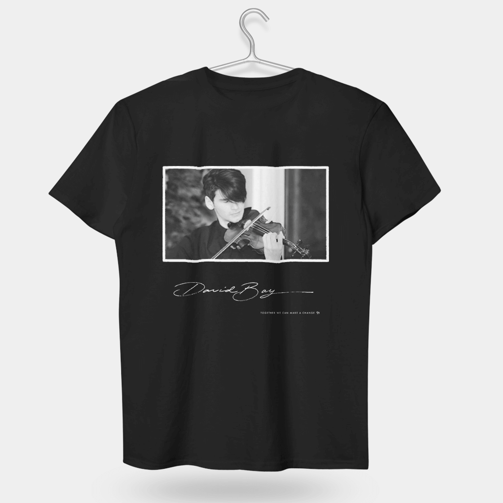 I'm on my own but not alone David Bay designed Style 3 T-shirt