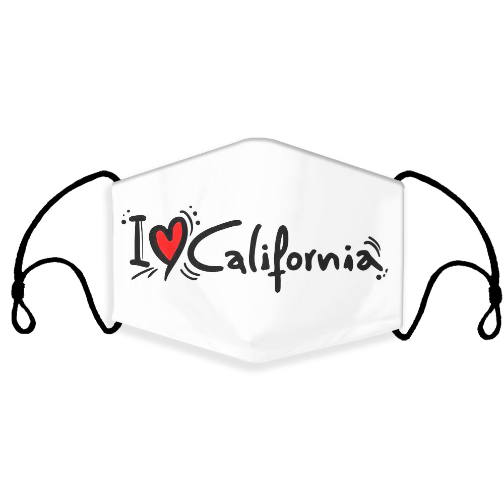 Ready to Ship LOVE Cloth Face Mask, Love KC, Love New York, Love CA, Love Chicago Face Masks, Washable, Reusable, Fashion Adult & Children Masks, Full Coverage!