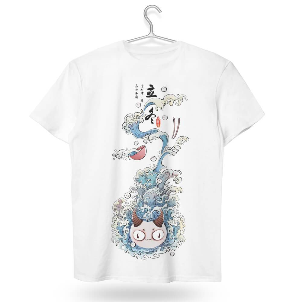 tshirt,art,wholeprint,3D,OPD,shirt,sweet dumplings,cute