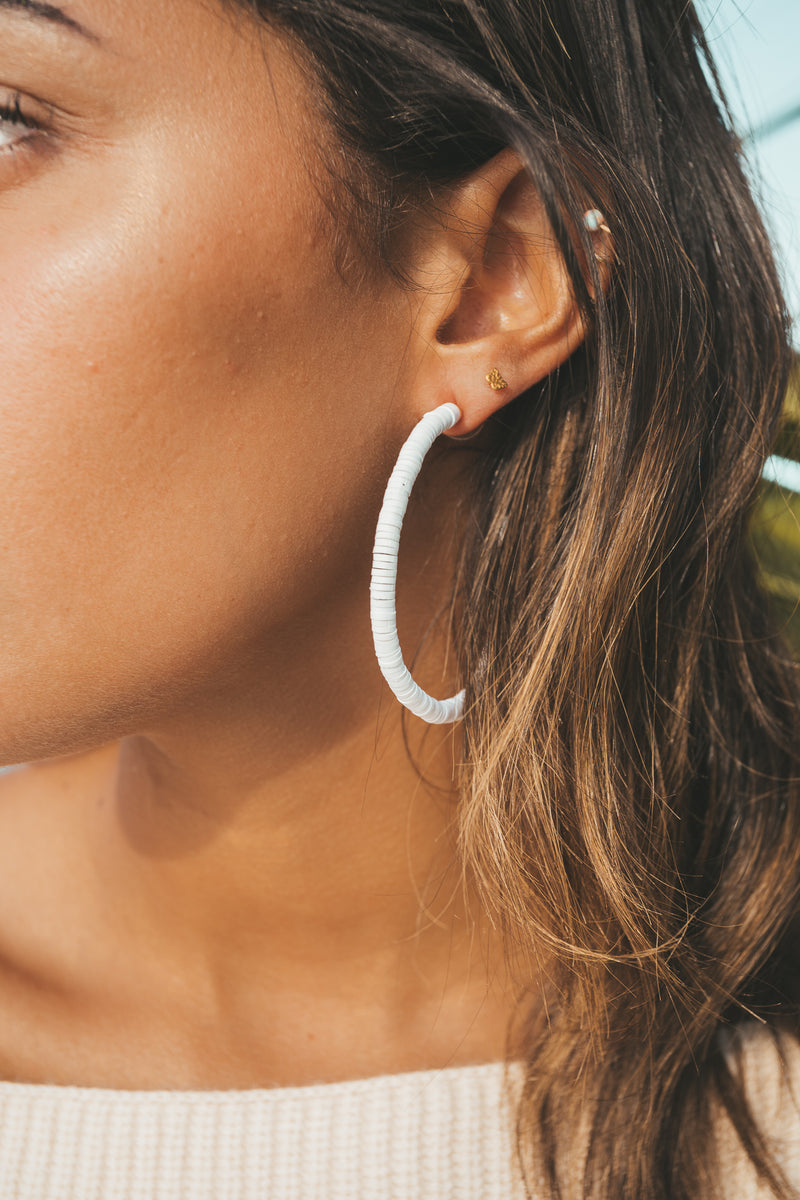 Halei Hoop Earrings