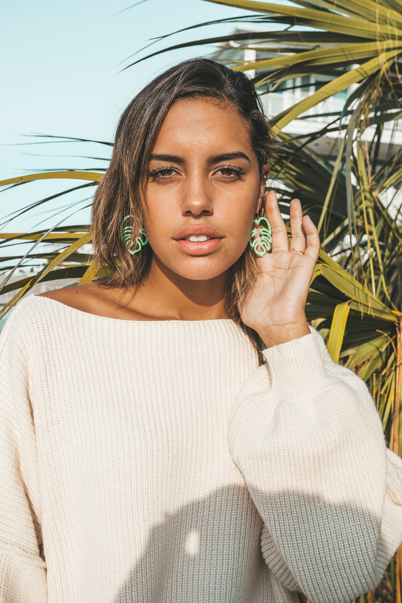 Back From The Tropics Earrings
