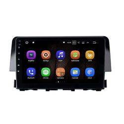 "[ open box] 9"" Octa-Core Android Navigation Radio for Honda Civic 2016 - 2019"