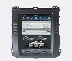 "Open Box 10.4"" Vertical Screen Android Navigation Radio for Toyota Land Cruiser Prado 2003 - 2009"