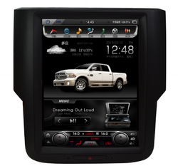 "open box [ PX6 SIX-CORE ] 10.4"" Android 9 Fast Boot Vertical Screen 1 button Navi Radio for Dodge Ram 2013 - 2018"