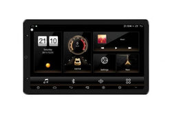 "open box 13.3"" Android 8.1 Universal double din Navigation Radio with Motorized rotatable screen"