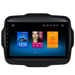 "[ open box ] 9"" Octa-Core Android Navigation Radio for Jeep Renegade 2015 - 2019"