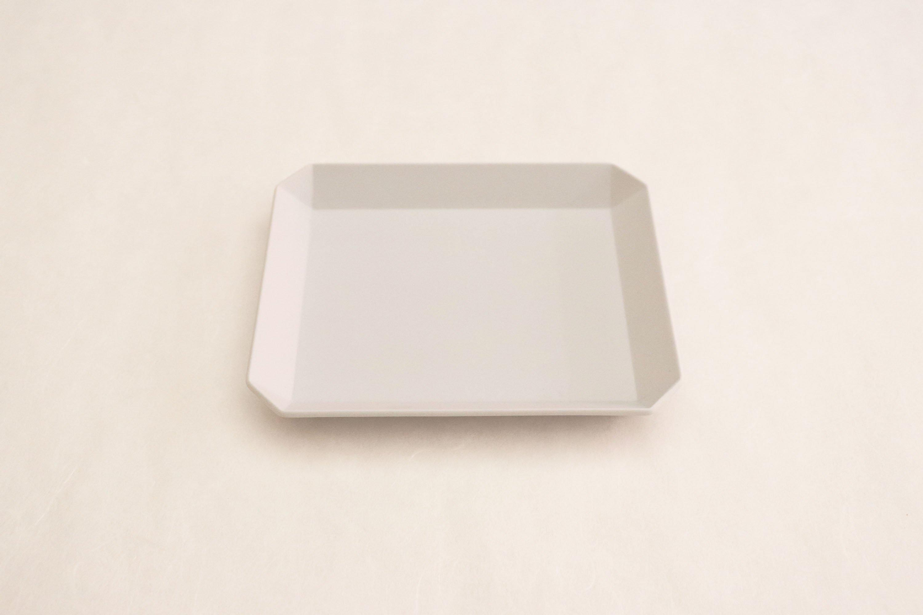 "TY""Standard"" Square Plate plane Gray 130"