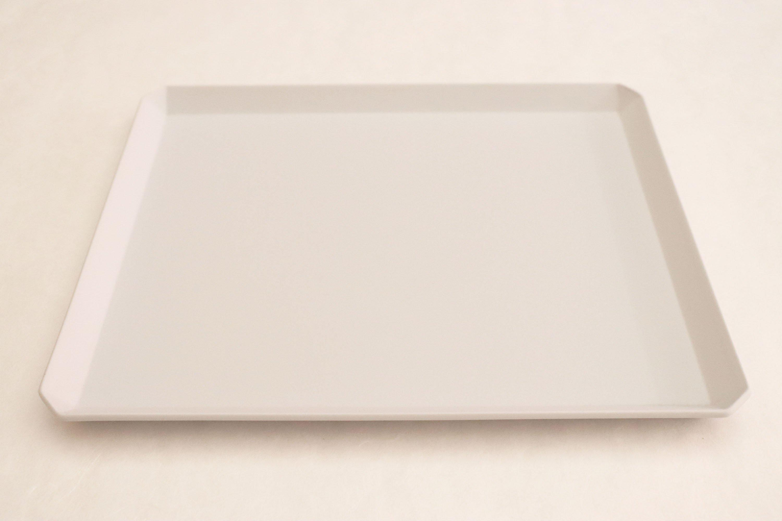 "TY""Standard"" Square Plate plain Gray 270"