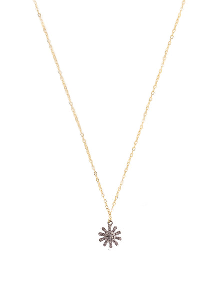 Pave Diamonds Star, 14k Goldfilled Chain NE 1994