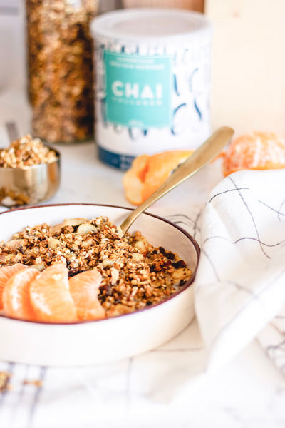 Chai Glownola Breakfast Recipe