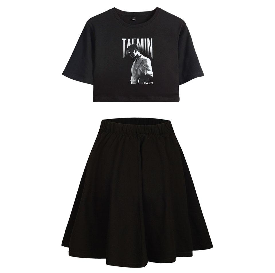 SUPERM WE ARE THE FUTURE SET T-SHIRT SKIRT
