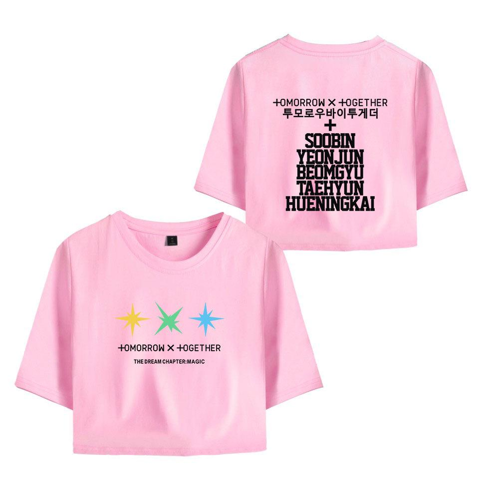 TXT TOMORROWXTOGETHER CROP TOP