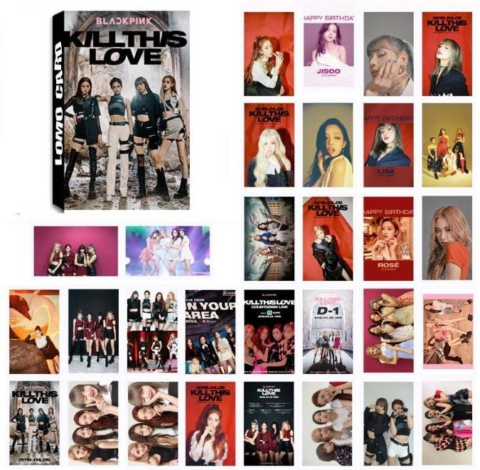 BLACKPINK LOMO CARDS 30 PIECES