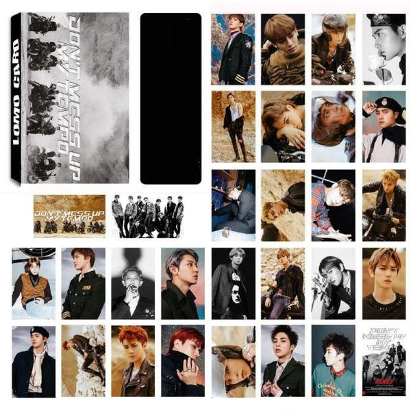 EXO LOMO CARDS 30 PIECES