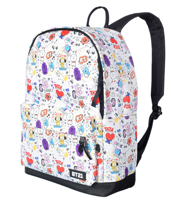 """BTS BANGTAN  BOYS BT21"" BACKPACK"
