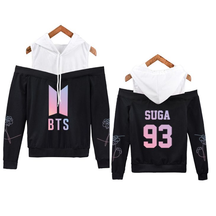 """BTS BANGTAN BOYS LOVE YOURSELF WITH FASHIONABLE HOOD"" HOODIE"