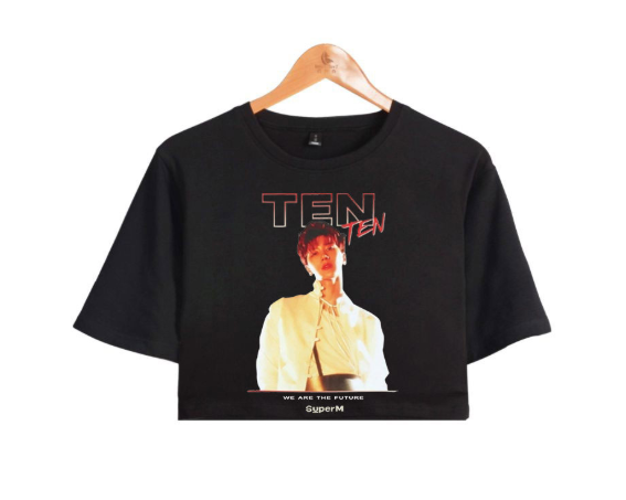 SUPERM WE ARE THE FUTURE CROP TOP