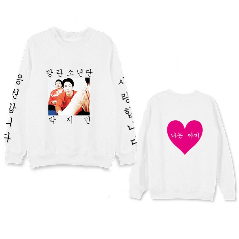 BTS BANGTAN BOYS HEART IDOL WEAR V JIMIN J-HOPE SWEATER