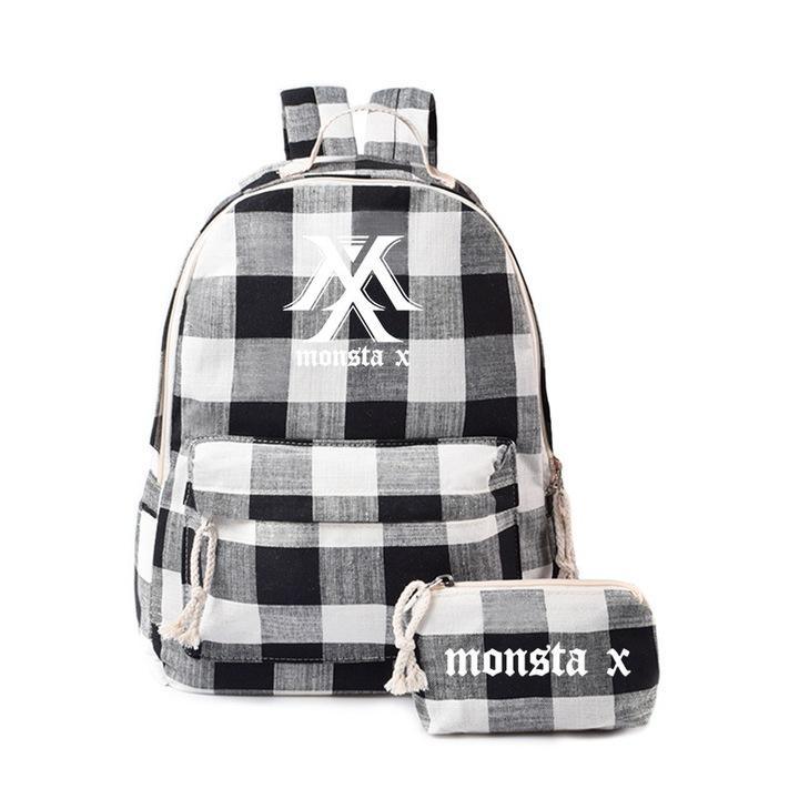 """MONSTA X"" BACKPACK + PENCIL CASE"