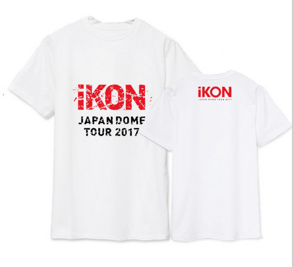 """iKON JAPAN DOME TOUR 2017"" KOSZULKA T-SHIRT"