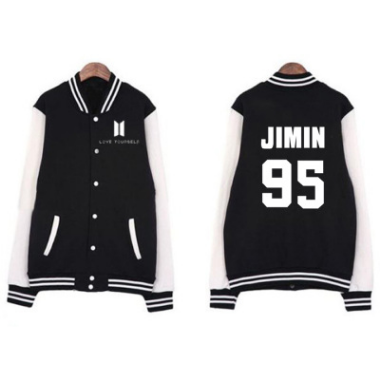 """BTS BANGTAN BOYS"" BASEBALL JACKET"