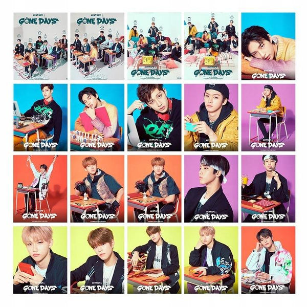 STRAY KIDS GONE DAYS LOMO CARDS