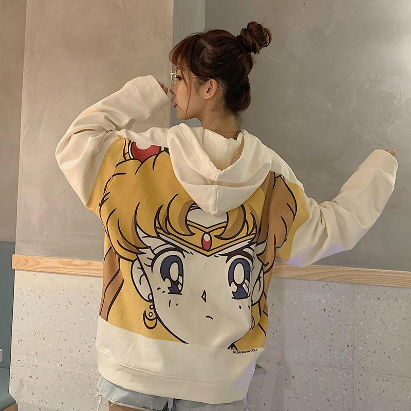 SAILOR MOON BLUZA Z KAPTUREM
