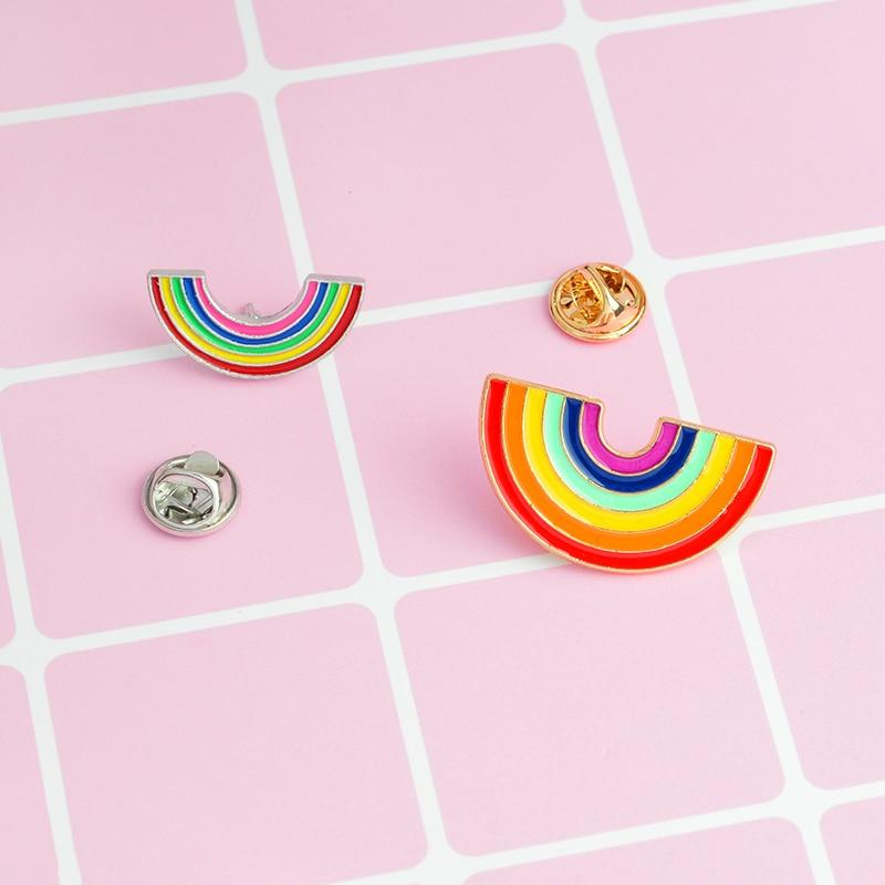 RAINBOW BROOCH PIN