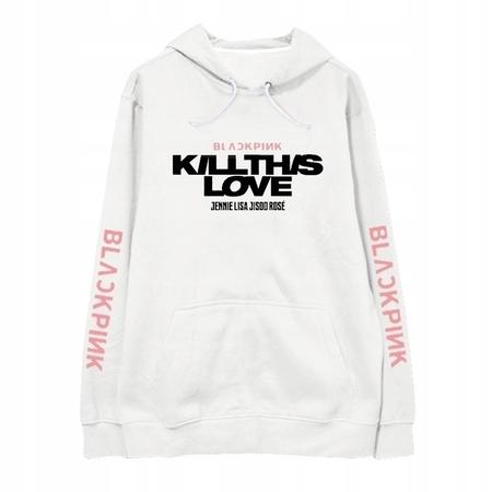 """BLACKPINK KILL THIS LOVE"" BLUZA Z KAPTUREM"