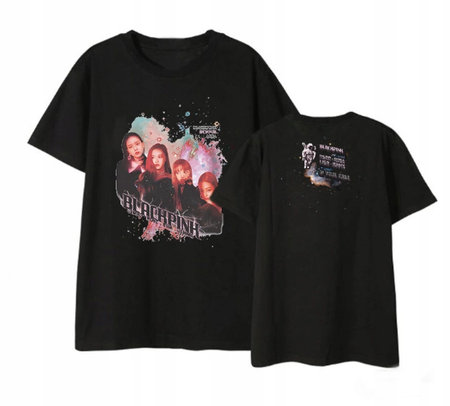 """BLACKPINK MEMBERS LISA ROSE JENNIE JISOO"" KOSZULKA T-SHIRT"
