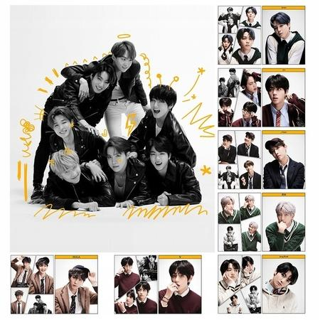 BTS BANGTAN BOYS UNIFORM LOMO CARDS