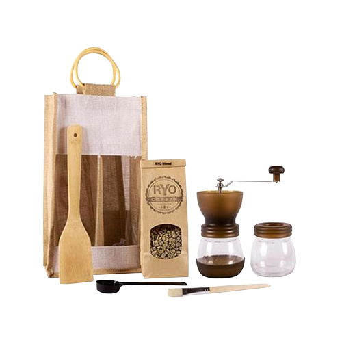 RYO Coffee Lover's Gift Pack Raw Beans