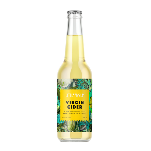 Little Wolf Virgin Cider 340ml