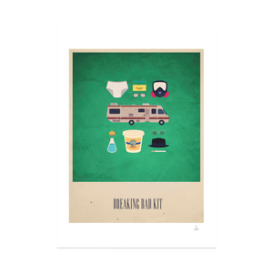 Breaking Bad Kit Print (Framed)