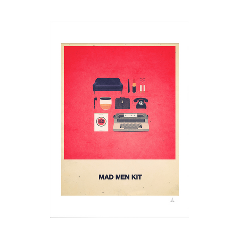 Mad Men Kit Print (Framed)