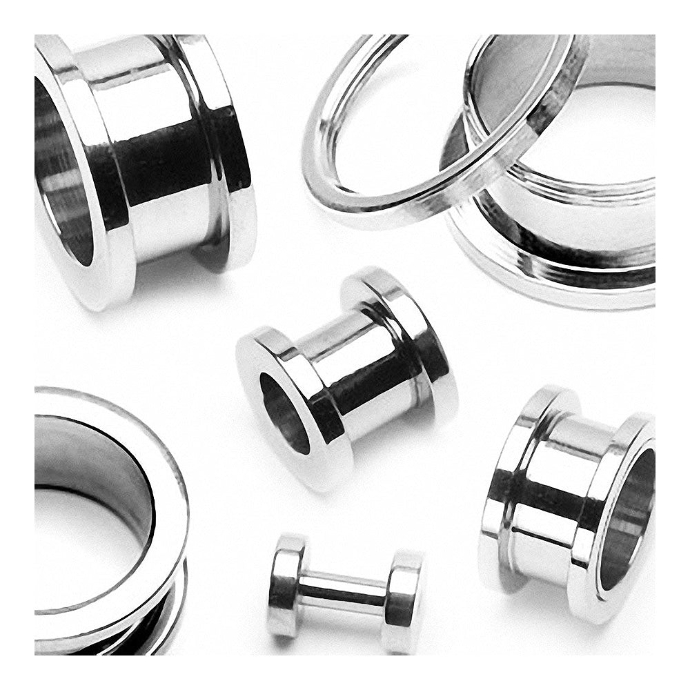 ::SALE:: Surgical Steel Screw Fit Tunnel