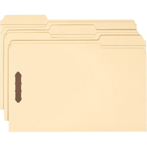 Smead Manufacturing Company 1/3-Cut Top Tab Fastener File Folders