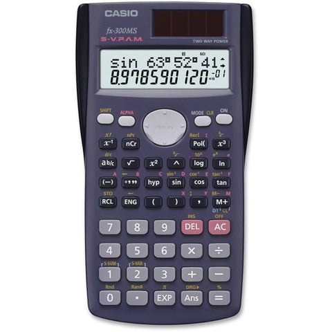 Casio Computer Co., Ltd FX300MS 10-dgt 2-line Scientific Calculator