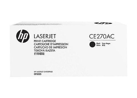 HP 650A (CE270AC) Color LaserJet CP5525 M750 Black Original LaserJet Contract Toner Cartridge (13500 Yield)