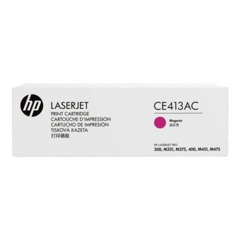 HP HP 305A (CE413AC) Color LaserJet Pro 300 MFP M375nw, Pro 400 M451, Pro 400 MFP M475 Magenta Original LaserJet Contract Toner Cartridge (2,600 Yield)