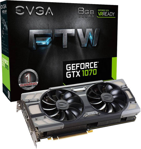 EVGA  GeForce GTX1070 FTW Gaming