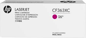HP 508X (CF363XC) Color LaserJet M552 M553 (Flow) MFP M577 High Yield Magenta Original LaserJet Contract Toner Cartridge (9500 Yield)